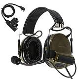 TAC-SKY COMTA II - Casco antirruido de Tir electrónico con protección auditiva...
