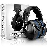 SCHALLWERK ® Work+ auriculares aislantes ruido – orejeras de tamaño...