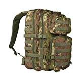 Mil-Tec EE.UU. Mochilla Assault Pack (Small/Vegetato Woodland)