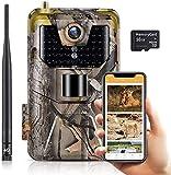 SuntekCam Cámara de caza 4G 3G MMS SMTP 20 MP 1080P Wildlife cámara...