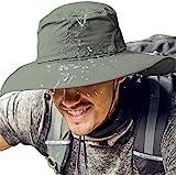 Cooltto Sombrero del Pescador,Gorro de Pesca,50+ UV protección Solar de Ancho...