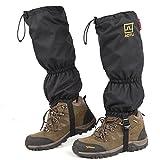 SUNRIS Protección impermeable para las piernas de la nieve, para esquí,...