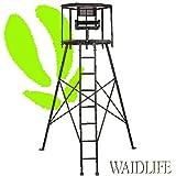 Cacería De Life 360° hochsitz Metal Caza–ANsitz–Escalera de...