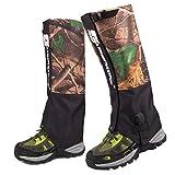 Oarea - Polainas de botas impermeables para caza altamente transpirables,...