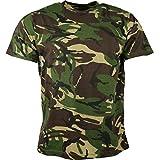 Kombat UK de los Hombres Adultos Camuflaje Camisetas, Hombre, Color DPM Camo,...