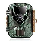 K&F Concept Mini Cámara de Caza 16MP 1080P con IP65 Impermeable Detector de...