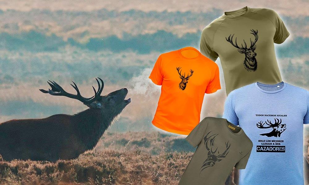 Camisetas de Ciervo Venado Caza