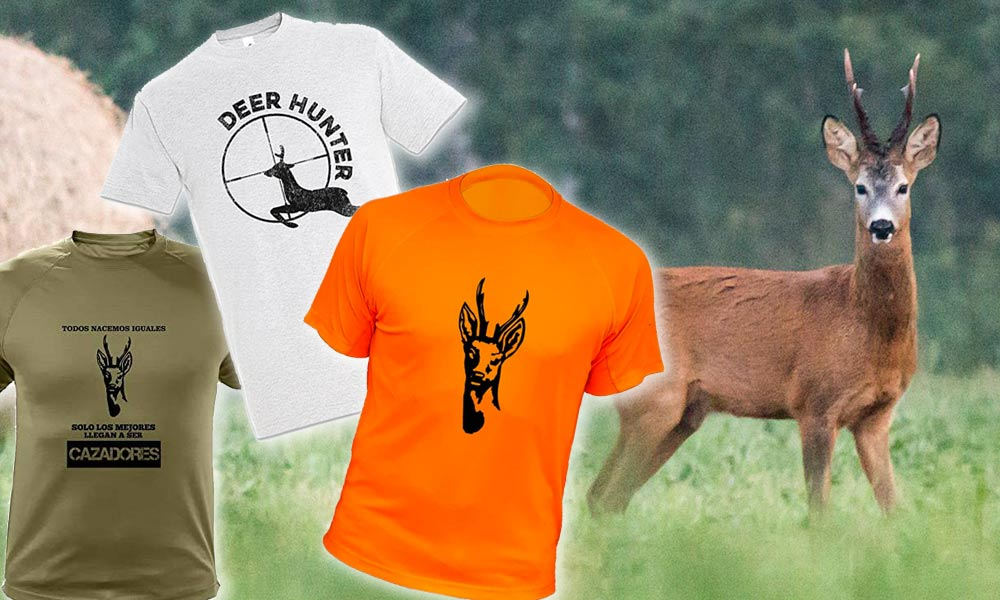 Camisetas de Corzos para Cazadores