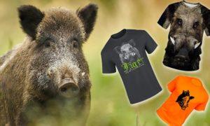 Camisetas de Jabalí de Caza